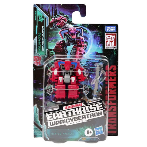 Transformers War for Cybertron Earthrise WFC-E2 Battle Master Smashdown Box Package