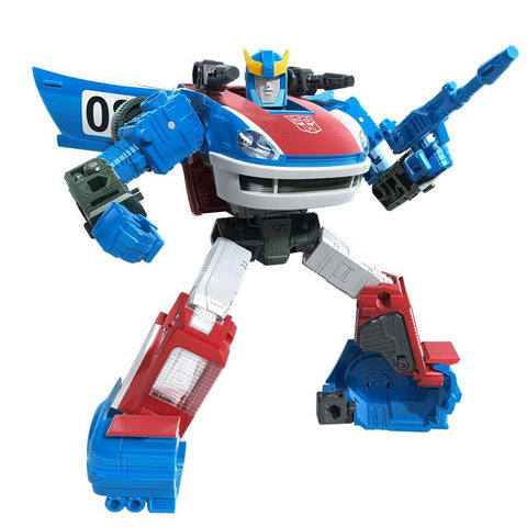 Transformers War for Cybertron Earthrise WFC-E20 Deluxe G1 Smokescreen Robot Render image
