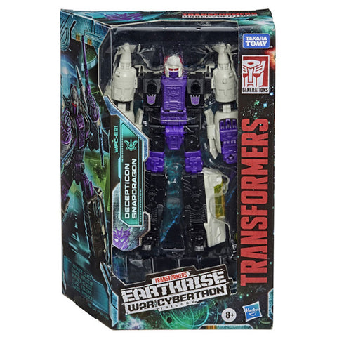 Transformers War For Cybertron Earthrise WFC-S21 Voyager Snapdragon Box Package Front