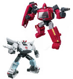 Transformers War for Cybertron Earthrise WFC-E31 Autobot Prowl Ironhide 2-pack robot toys Render