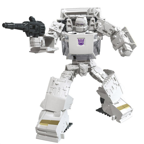 Transformers War for Cybertron Earthrise WFC-E37 Runamuck white robot render