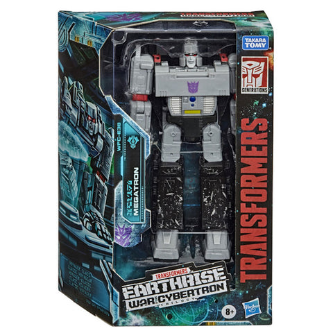 Transformers War for Cybertron Earthrise WFC-E38 Voyager Megatron Earth Mode Box Package Front