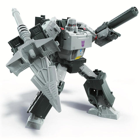 Transformers War for Cybertron Earthrise WFC-E38 Voyager Megatron Earth Mode Robot sword render