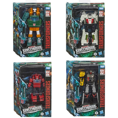 Transformers War for Cybertron Earthrise Deluxe Wave 1 Box Package