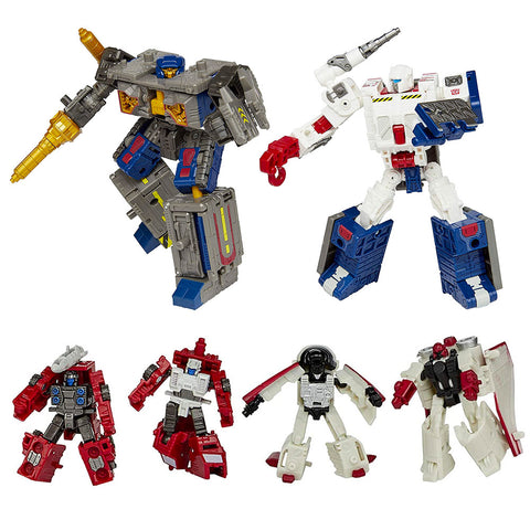 Transformers War for Cybertron Earthrise Galactic Odyssey Collection botropolis rescue mission rocket base amazon exclusive giftset robot toys