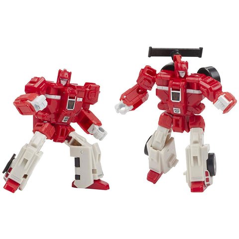 Transformers War for Cybertron Galactic Odyssey Collection Biosfera autobot clones cloudraker & fastlane robot toys