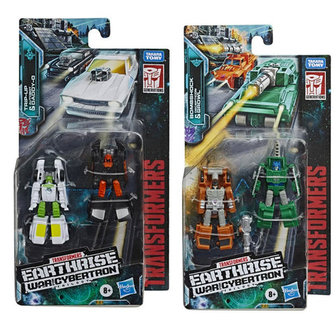 Transformers Earthrise Micromasters Wave 1 Bundle