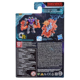Transformers War for Cybertron Earthrise WFC-E39 Battlemaster Doublecrosser box package back
