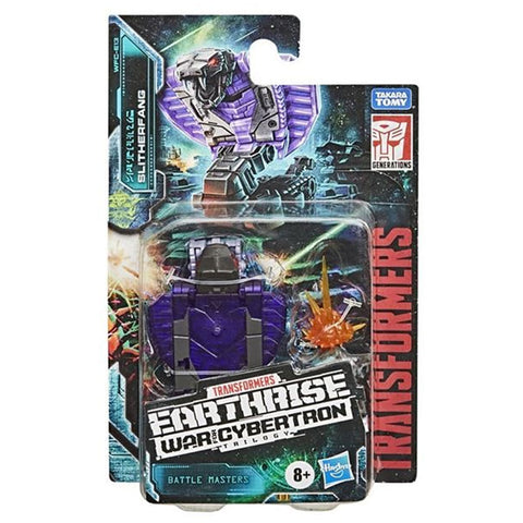 Transformers War for Cybertron Earthrise WFC-E13 Battlemaster Slitherfang Box Package Front