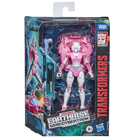 Transformers War for Cybertron WFC-E17 Deluxe Arcee Box Package Front