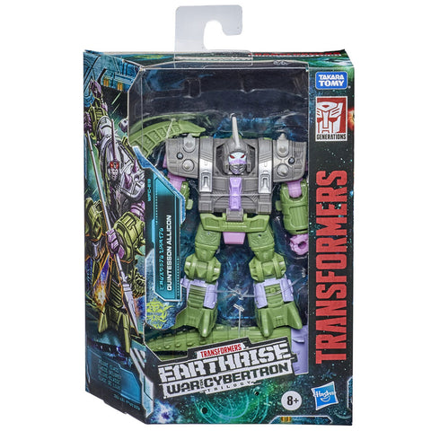 Transformers War for Cybertron WFC-19 Deluxe Quintesson Allicon Box Package Front