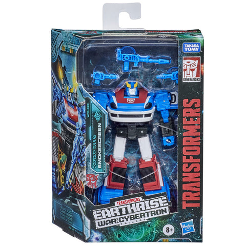 Transformers War for Cybertron Earthrise WFC-E20 Deluxe Smokscreen Box Package Front