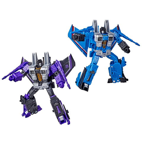 Transformers War for Cybertron WFC-E29 Voyager Seeker Thundercracker Skywarp Toys