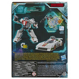 Transformers War For Cybertron Earthrise WFC-E6 Deluxe Wheeljack Packaging Back Side