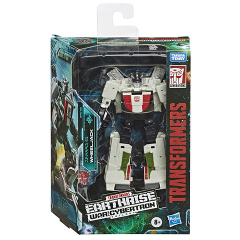 Transformers War For Cybertron Earthrise WFC-E6 Deluxe Wheeljack Box Package Front