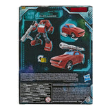 Transformers War for Cybertron Earthrise WFC-E7 Deluxe Cliffjumper Package Back Side