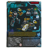 Transformers War For Cybertron Earthrise WFC-E8 Ironworks Box Package Back