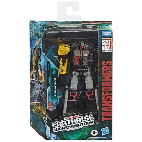 Transformers War For Cybertron Earthrise WFC-E8 Ironworks Box Package Front