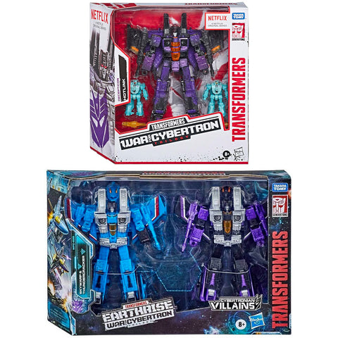 Transformers War For Cybertron Exclusive Seeker 5-figure bundle box package front