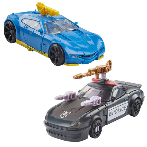 Transformers War For Cybertron Earthrise Galactic Odyssey Collection Dominus Criminal Pursuit Barricade & Punch-Countpunch - 2-Pack