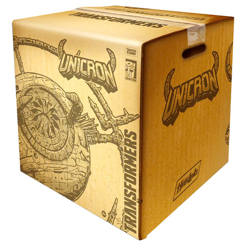 Transformers War for Cybertron Haslab Unicron Shipping Box Render