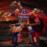 Transformers War for Cybertron Kingdom WFC-K11 Leader Optimus Prime robot toy fossilizer armor toy photo
