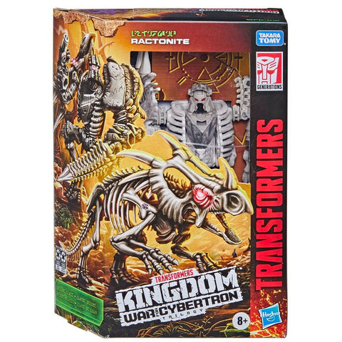 Transformers War for Cybertron Kingdom WFC-K15 deluxe ractonite box package front