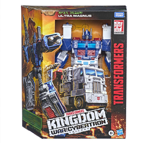 Transformers War for Cybertron Kingdom WFC-K20 Leader Ultra Magnus Box package front