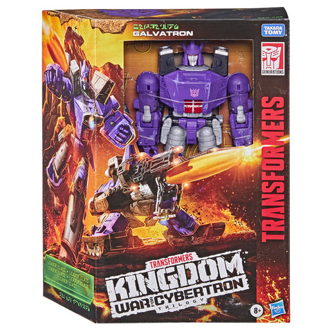 Transformers War for Cybertron Kingdom WFC-K28 Leader Galvatron Box Package front