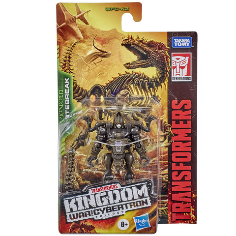 Transformers War for Cybertron Kingdom WFC-K3 Core vertebreak fossilizer box package front