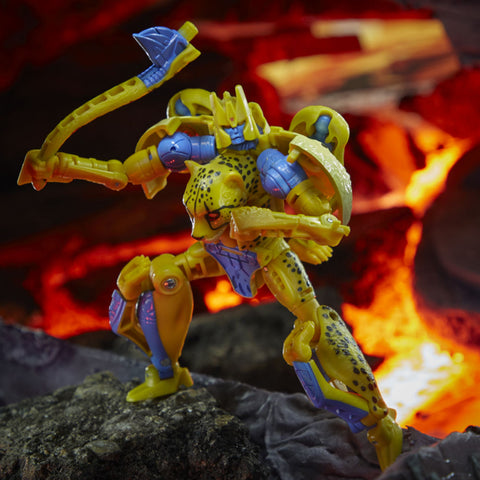 Transformers War for Cybertron Kingdom WFC-K4 Deluxe Cheetor robot toy photo