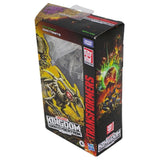 Transformers War for Cybertron Kingdom WFC-K16 deluxe ractonite fossilizer box package top angle
