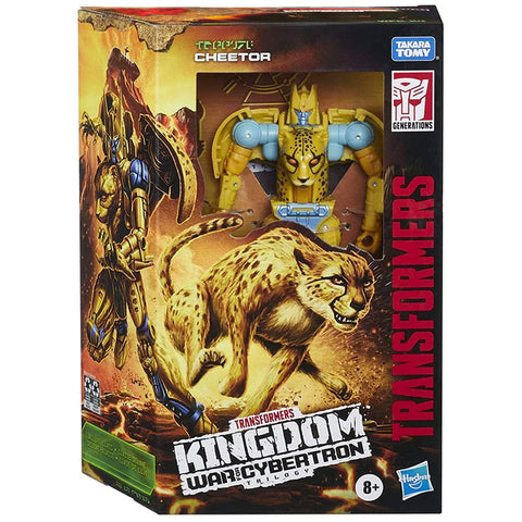 Transformers War for Cybertron Kingdom WFC-K4 Deluxe Cheetor box package front