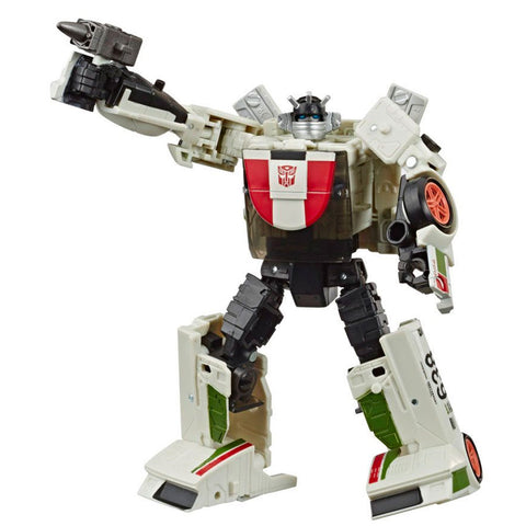 Transformers War for Cybertron Kingdom WFC-K24 Deluxe Wheeljack robot toy