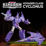 Transformers War for Cybertron Kingdom WFC-K9 Voyager Cyclonus Toy Promo