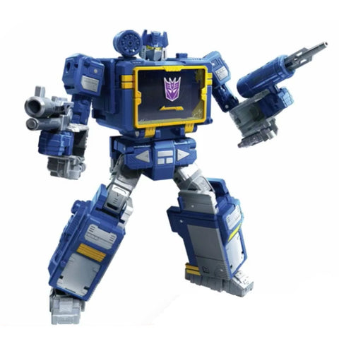Transformers War for Cybertron Trilogy Netflix Walmart Voyager Earthrise Soundwave Robot Render