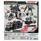 Transformers War for Cybertron Netflix TakaraTomy Japan WFC-08 Leader ultra Magnus box package back