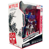 Transformers War for Cybertron Netflix TakaraTomy Japan WFC-08 Leader ultra Magnus box package front angle