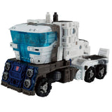 Transformers War for Cybertron Netflix TakaraTomy Japan WFC-08 Leader ultra Magnus car carrier white semi truck vehicle toy