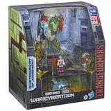 Transformers War for Cybertron Trilogy Quintesson Pit of Judgement Playset box package angle