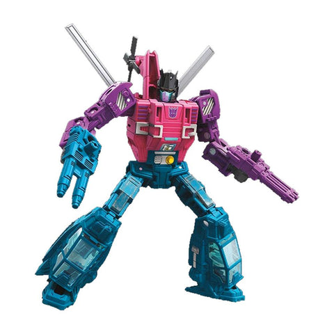 Transformers War for Cybertron Siege Deluxe Spinister Robot Render