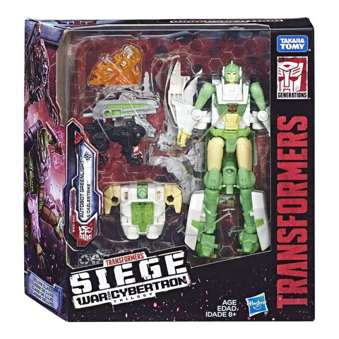 Transformers War for Cybertron Siege WFC-15 Deluxe Autobot Greenlight box package