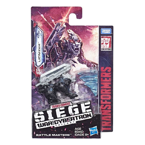 Transformers War For Cybertron Siege WFC-S2 Battlemaster Lionizer Package Box