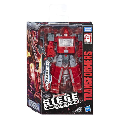 Transformers War for Cybertron Siege WFC-S21 Deluxe Ironhide Box Package
