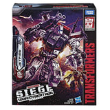 Transformers War for Cybertron Siege S-28 Commander Jetfire Box Package