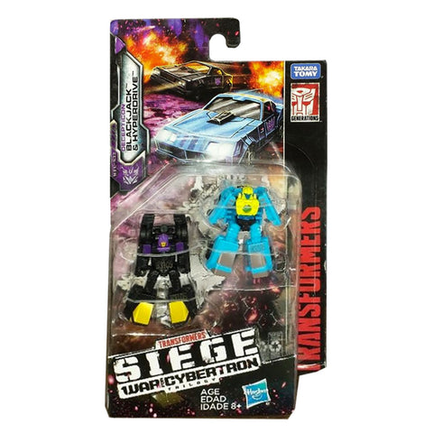 Transformers Siege WFC-S32 Blackjack & Hyperdrive - Micromaster Sports Car Patrol