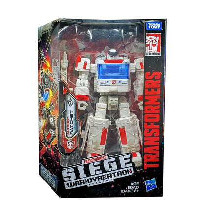 Transformers War for Cybertron Siege WFC-S34 Ratchet Box Package