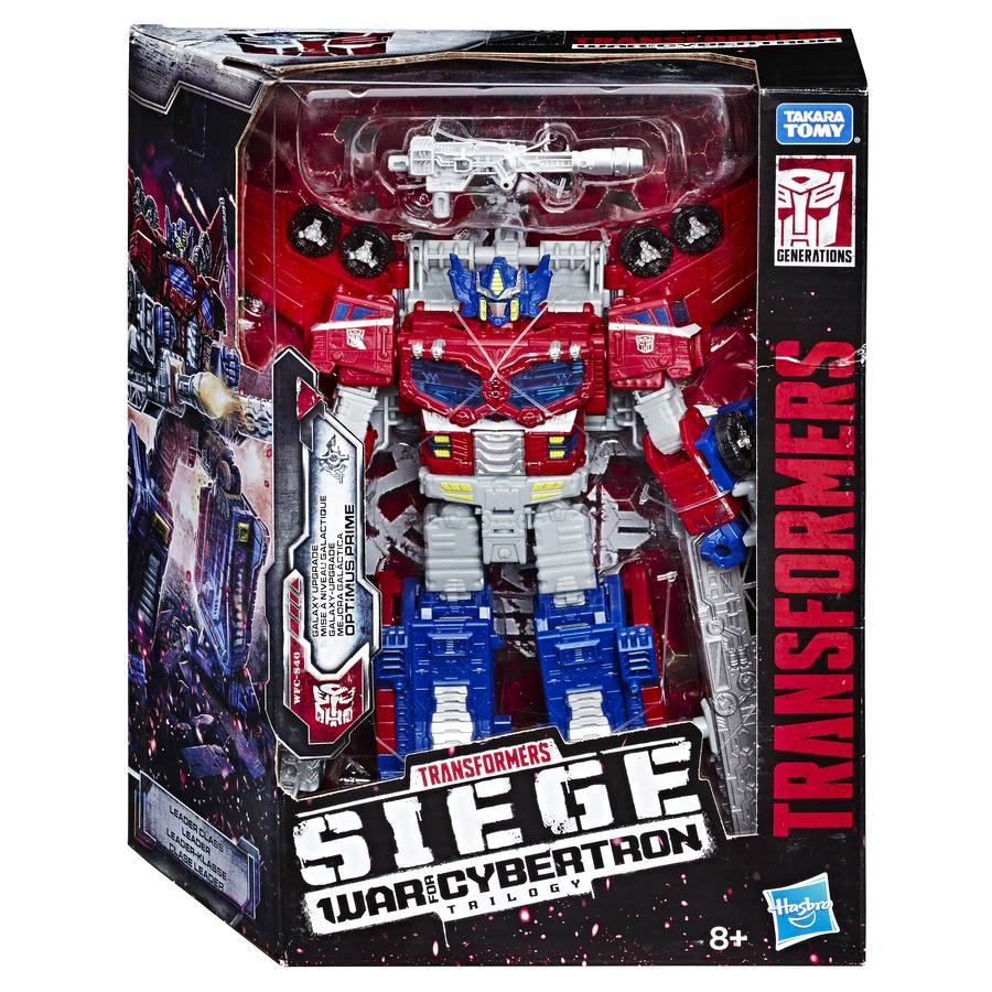 Image result for Transformers Generations War for Cybertron: Siege Leader Optimus Prime