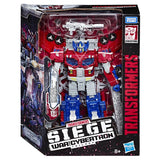 Transformers War for Cybertron Siege WFC-S40 Leader Optimus Prime Robot Galaxy Upgrade Cybertron Box Packaging