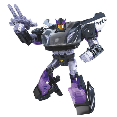 Transformers War for Cybertron Siege WFC-S41 Deluxe Barricade Robot Render
